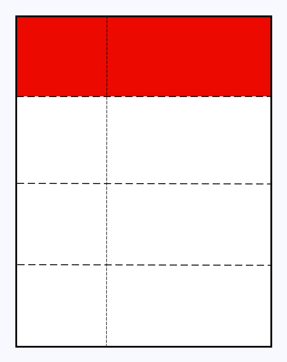 4-up perforated raffle ticket sheet template